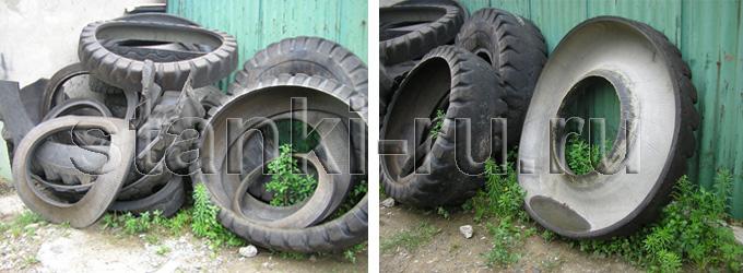 Станок для резки шин